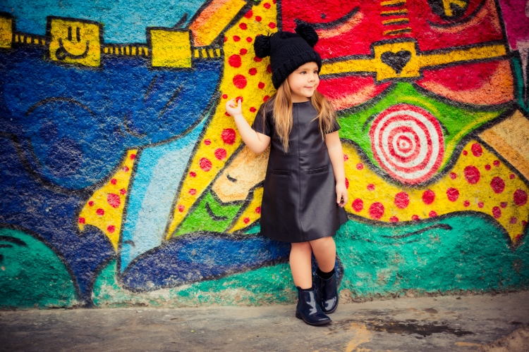 fashion kids wall art street style
