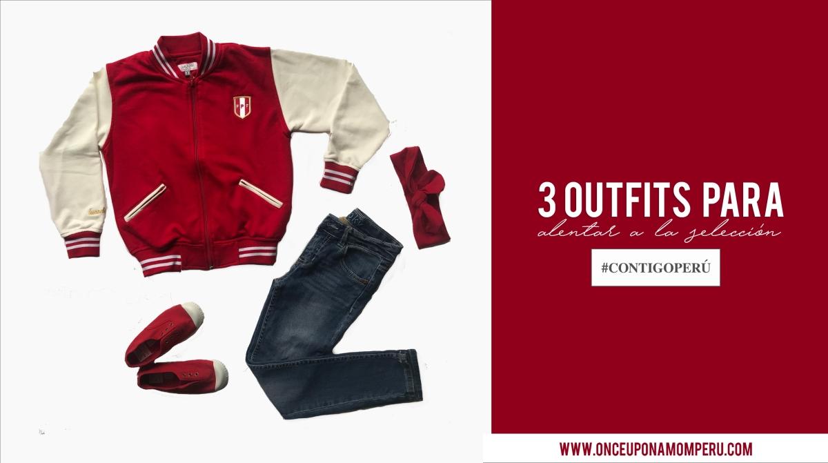 3 outfits para alentar a la selección